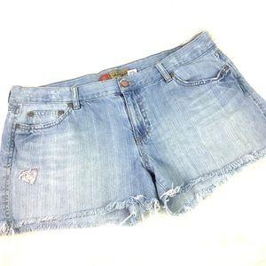 Old Navy cutoff shorts